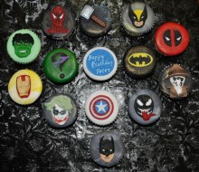 Cupcakes – Marvel characters and more