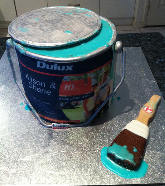 Dulux Paint Can « Eat That Cake