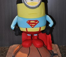 Minion x Superman x Basketball