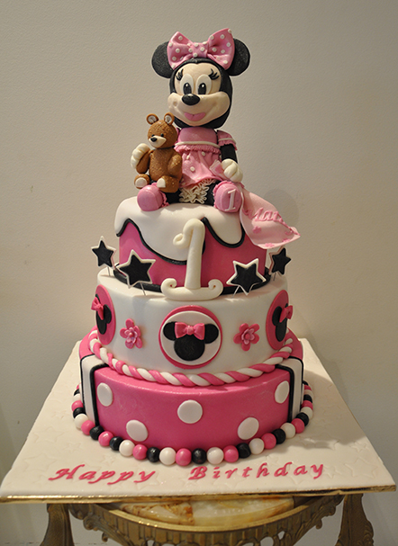 Minnie Mouse Eat That Cake Cakes by Charito