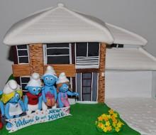 Smurfs Housewarming